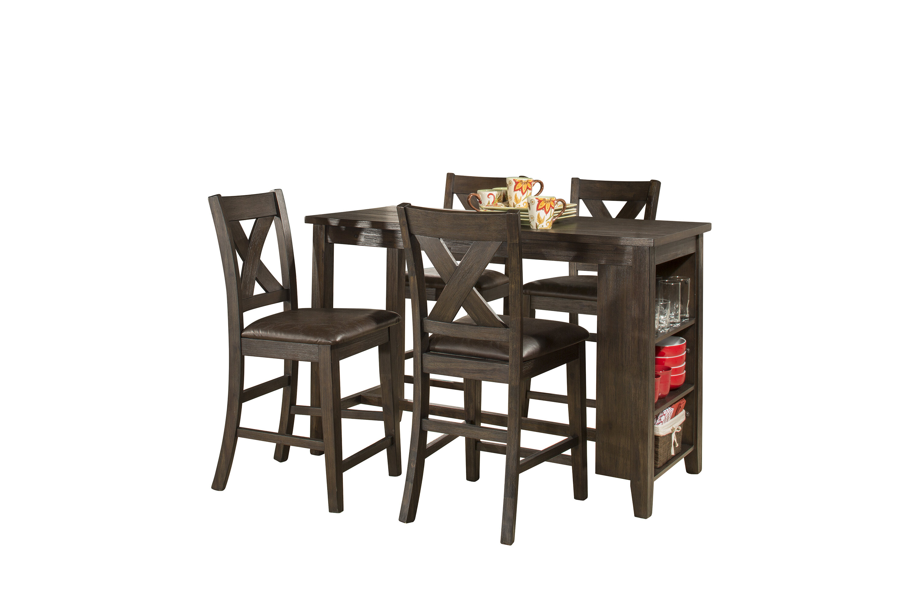 Exceptionnel Balthrop Spencer 5 Piece Counter Height Dining Set