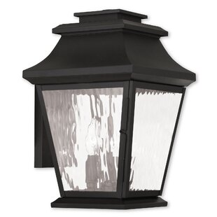 Campfield 3-Light Outdoor Wall Lantern by Darby Home Co