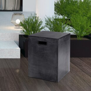 Sunpan Modern Mixt Castor End Table