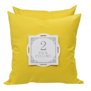 color and pillows yellow calacatta primrose pillow concrete rectangular product by