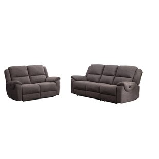 Ginnia 2 Piece Reclining Living Room Set by Latitude Run