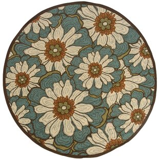 Ceasar Blue/Brown Indoor/Outdoor Area Rug by Winston Porter