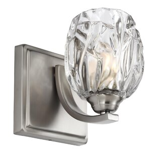 Bargain Louisbourg 1-Light Wall Sconce By Lark Manor