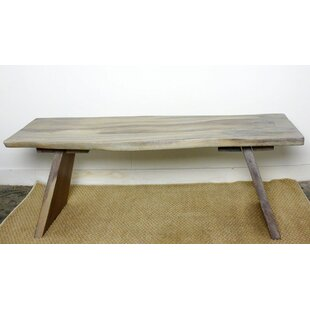 Union Rustic Lawton Sitting Wood Bench