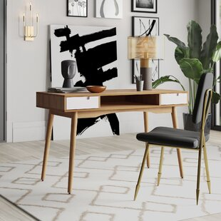 Boehmer Writing Desk by Mercury Row Best Design