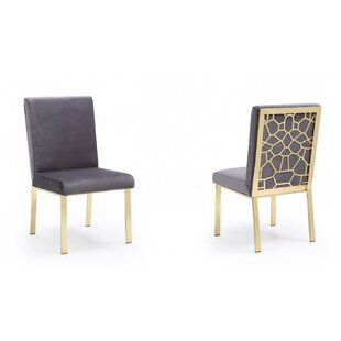 Middlet Upholstered Dining Chair (Set of 2) by Everly Quinn