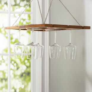 Bataan Benthey Hanging Wine Glass Rack by..