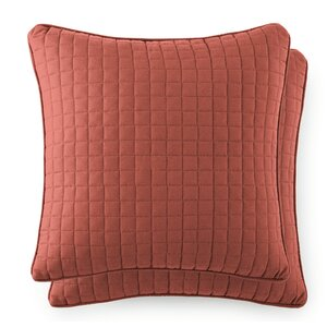 SouthShore Fine Linens Vilano Springs Quilted Throw Pillow Cover