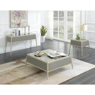 Alfredo 3 Piece Coffee Table Set