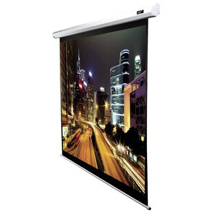 Spectrum2 White Electric Projection Screen