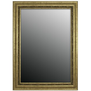 Second Look Mirrors Andelusian Rose Silver Classic Wall Mirror
