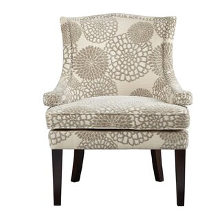 Madison Park Signature Floral Wingback Chair
