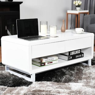 Comparison Pamela Modern Coffee Table with Storage By Orren Ellis