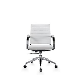 Bargain Stenberg Genuine Leather Office Chair by Latitude Run