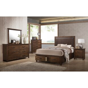 Drakes Upholstered Storage Panel Bed