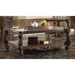 Rosdorf Park Elyssa Wooden Top Coffee Table