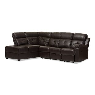 Kujawa Reclining Sectional by Red Barrel Studio Fresh