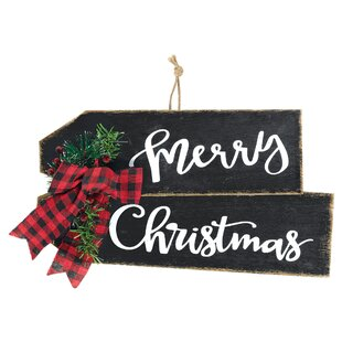 Outdoor Christmas Signs Wayfairca