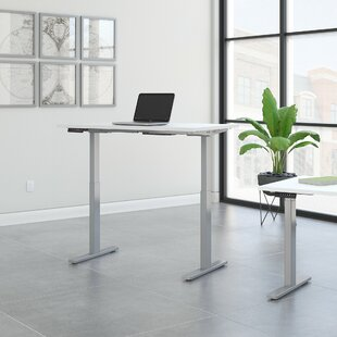 Check Prices Move 60 Series Height Adjustable Standing Desk by Bush Business Furniture