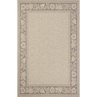 Bahamas Light Brown Indoor/Outdoor Area Rug