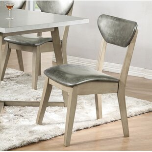 Minerva Upholstered Dining Chair (Set of 2) 17 Stories
