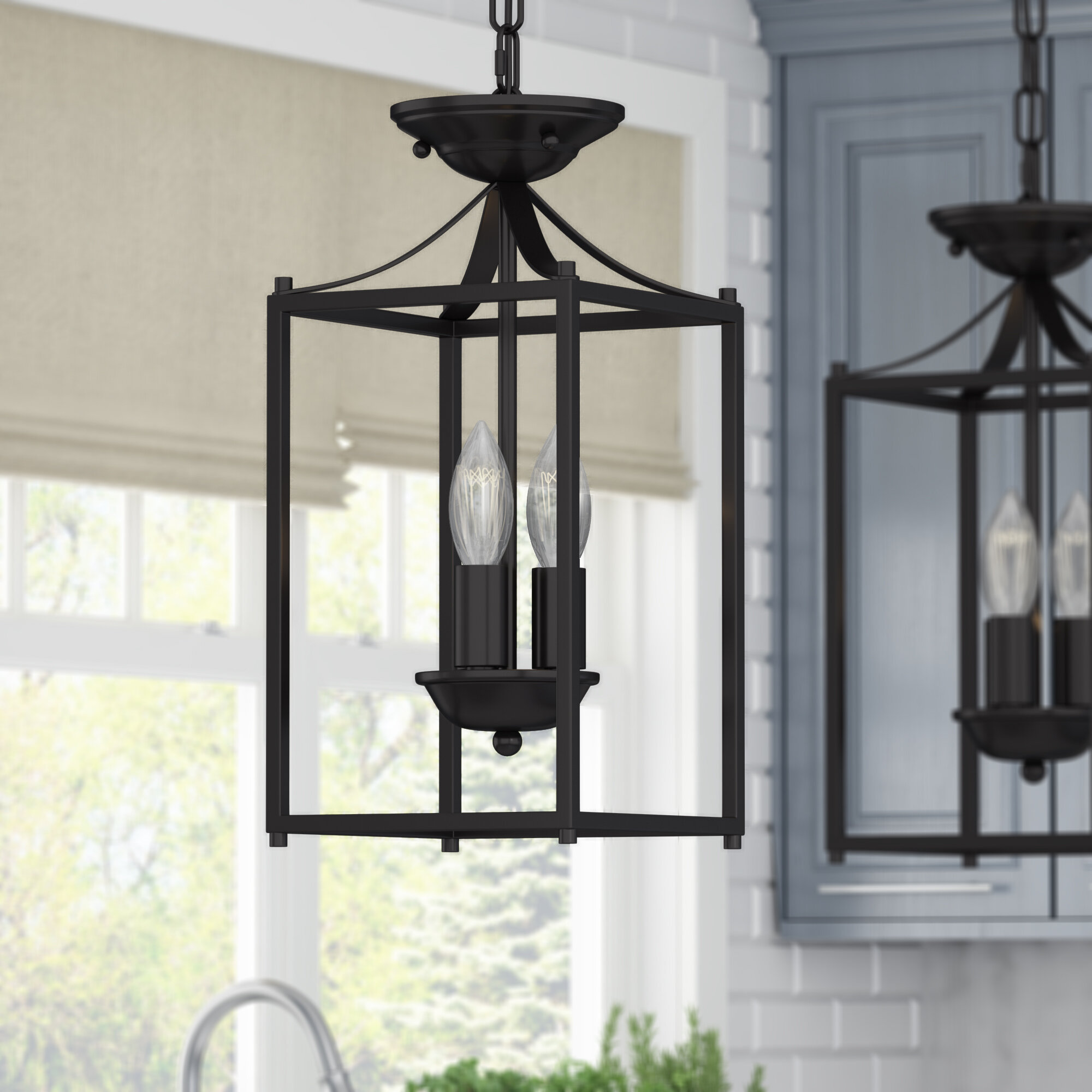 Astoria grand barryton 3 light foyer lantern pendant reviews wayfair