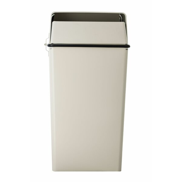 Rubbermaid 6 White Contemporary Wastebasket Mfg 2953 Sold As 12 Units