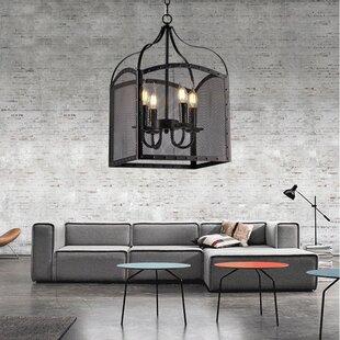 Amin 4-Light Foyer Pendant by Williston Forge