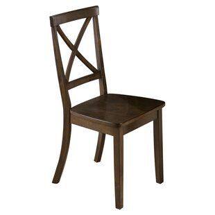 Stolz X-Back Side Chair by Three Posts