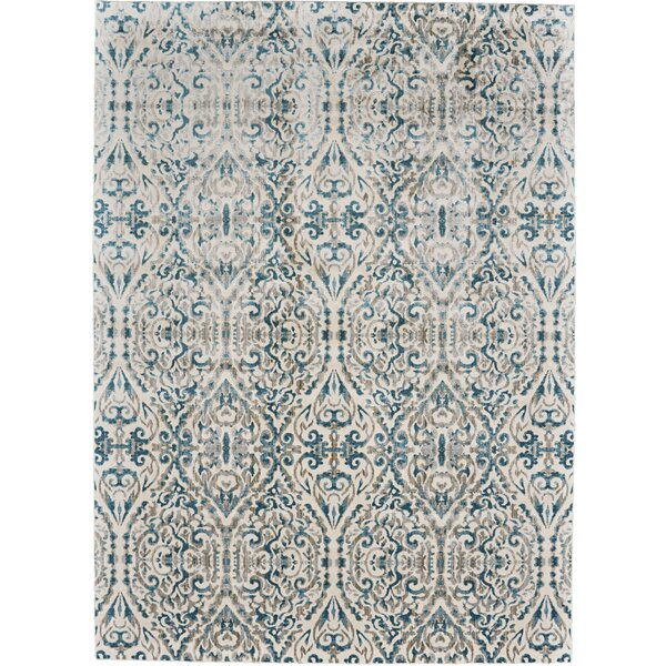 Feizy Keats Turquoise Area Rug
