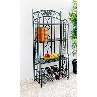 Darby Home Co Abbottsmoor 5-Tier Iron Indoor/Outdoor Bakers Rack