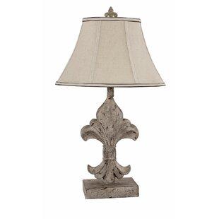 Attractive Fleur De Lis 28u0027u0027 Table Lamp