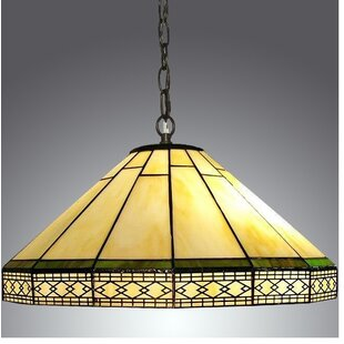 Warehouse of Tiffany Roman 2-Light Dome Pendant