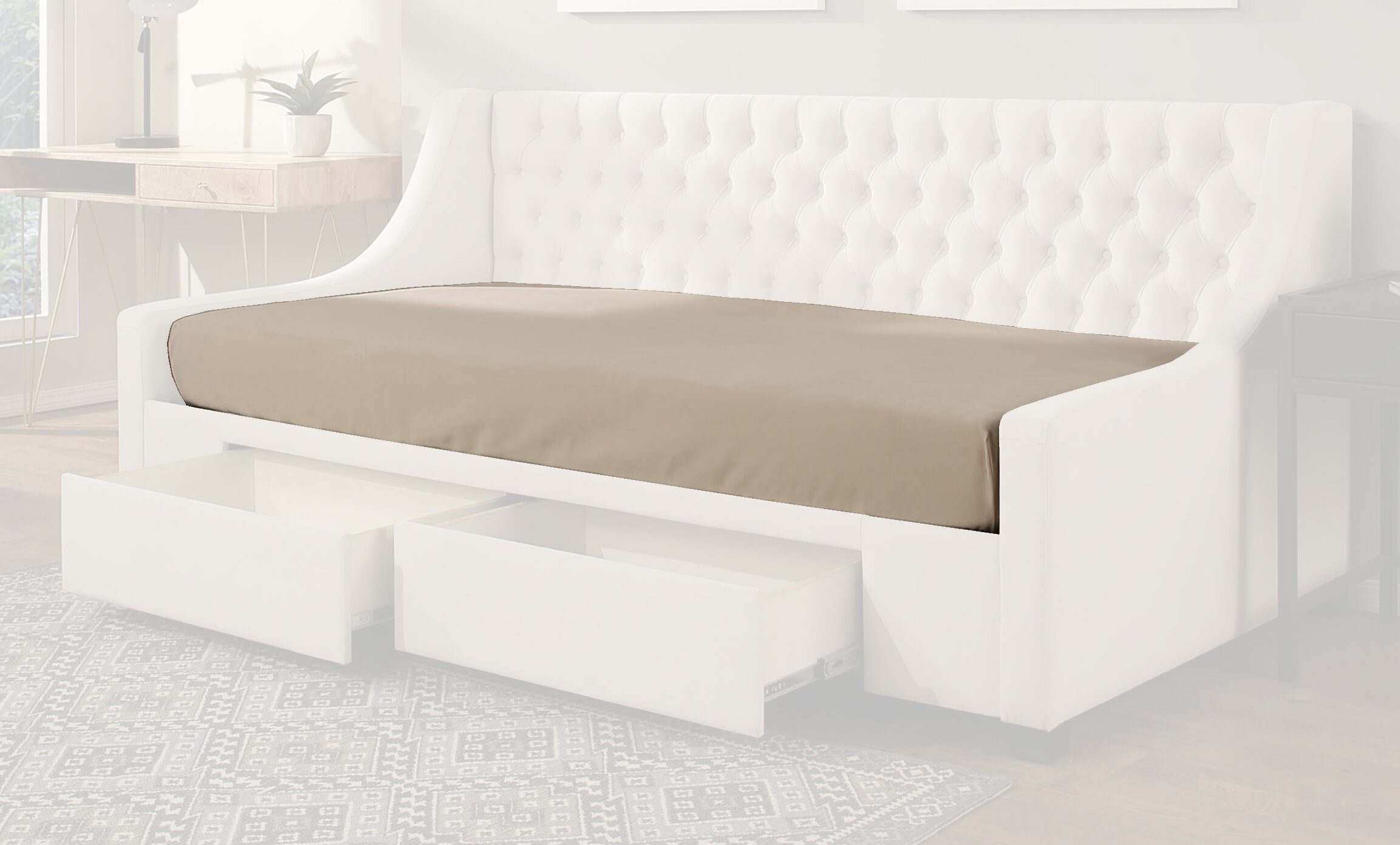 Arsuite Adamsville Daybed Fitted Mattress Protector Reviews Wayfair
