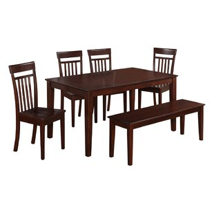 Smyrna 6 Piece Dining Set by Charlton Home