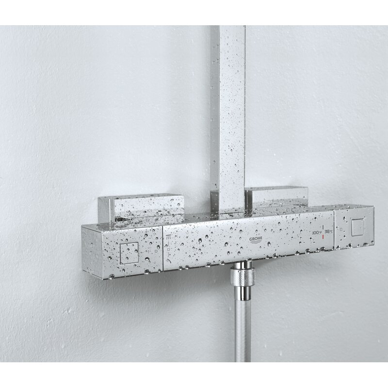 Euphoria Thermostatic Complete Shower System with TurboStat Technology