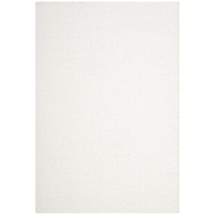 Affordable Cole White Area Rug By Ebern Designs