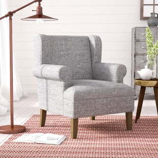 Best Reviews Meade Wingback Chair By Laurel Foundry Modern Farmhouse