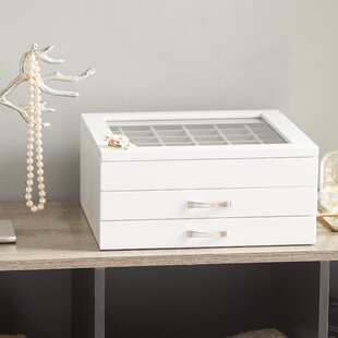 Large White Jewelry Box Wayfair