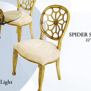 Spider Solid Wood Dining Chair by Benetti's Italia