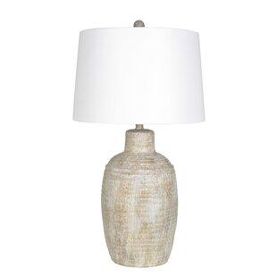 Kaitlynn Rustic Jug 31 Table Lamp