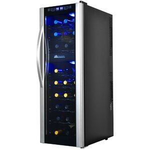 27 Bottle Dual Zone Freestanding Wine Cooler by Avalon Bay