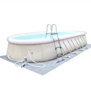 Onyx 10-Person 1-Jet Inflatable Plug And Play Spa By Symple Stuff