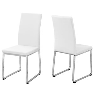 Monarch Specialties Inc. Upholstered Dining Chair (Set of 2)