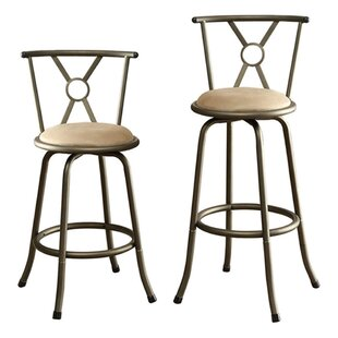 Carrell Adjustable Height Bar Stool by Ch..