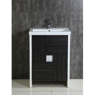 Comparison Stephen 24 Single Bathroom Vanity Set ByOrren Ellis