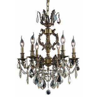 Canary 6-Light Candle Style Chandelier by Astoria Grand