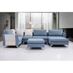 Brayden Studio Kalypso Modern Living Room..