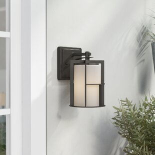 Affordable Thomaston 1-Light Outdoor Wall Lantern By Red Barrel Studio