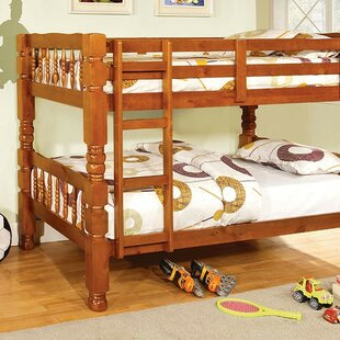 Fratessa Twin Over Twin Bunk Bed by Harriet Bee Best Design